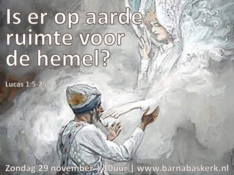 Liturgie ochtenddienst 29 november - ds. B.A.T. Witzier