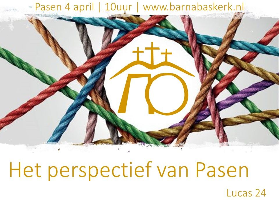 Liturgie ochtenddienst 4 april - ds. B.A.T. Witzier