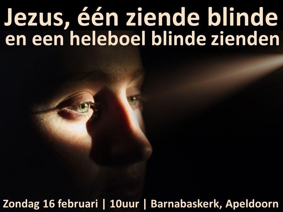 Liturgie ochtenddienst 16 februari - ds. B.A.T. Witzier