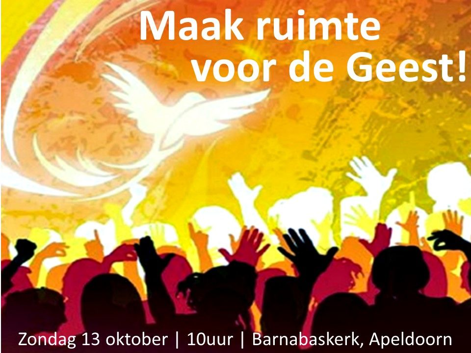 Liturgie ochtenddienst 13 oktober - ds. B.A.T Witzier