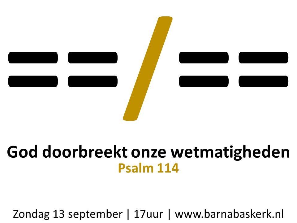 Liturgie middagdienst 13 september - ds. B.A.T. Witzier