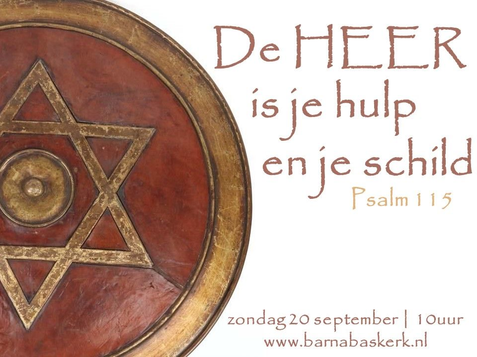 Liturgie ochtenddienst 20 september - ds. B.A.T. Witzier