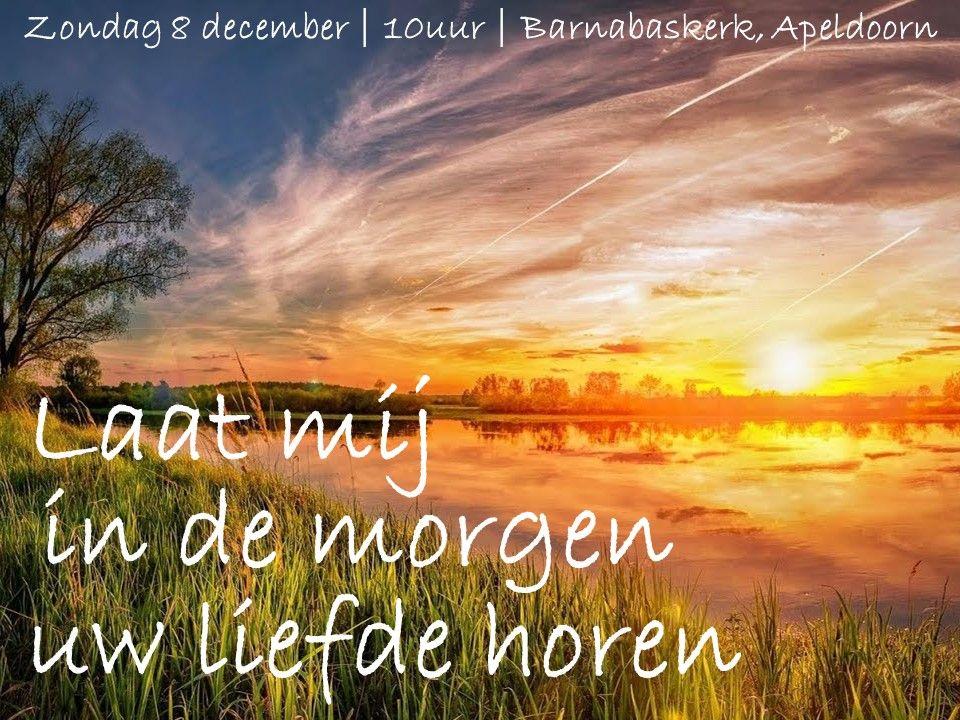 Liturgie ochtenddienst (HA) 8 december - ds. B.A.T. Witzier