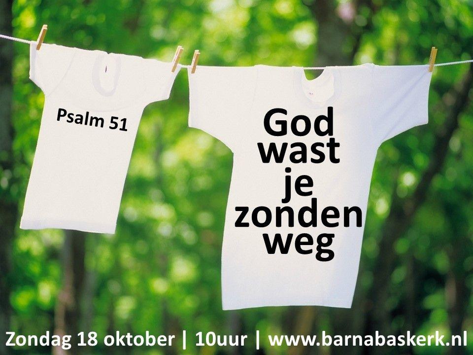 Liturgie ochtenddienst 18 oktober - ds. B.A.T. Witzier