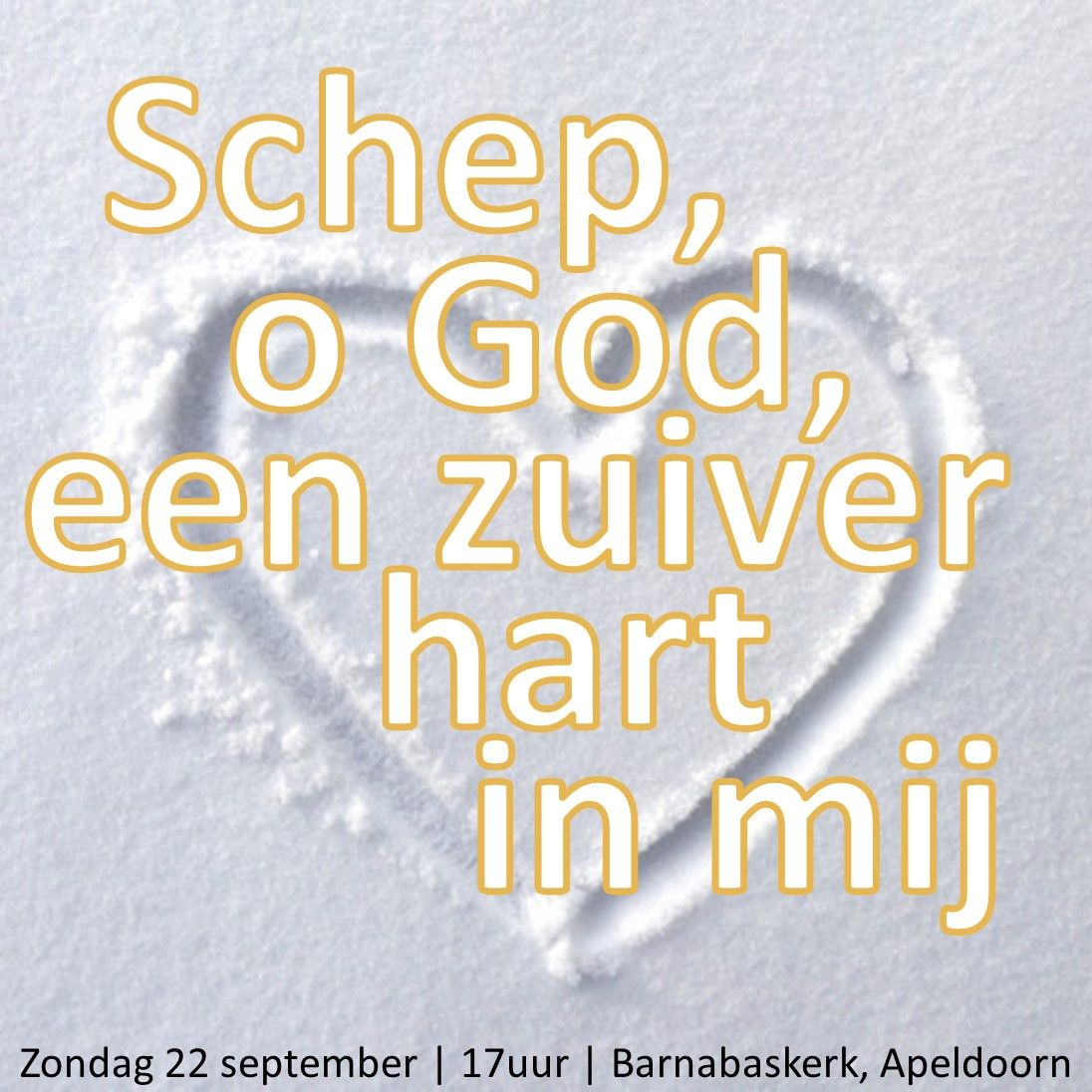 Liturgie middagdienst (HA) 22 september - ds. B.A.T. Witzier