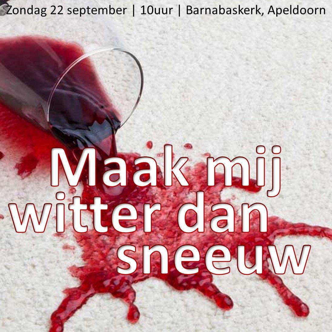 Liturgie ochtenddienst (HA) 22 september - ds. B.A.T. Witzier