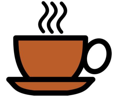 Kom je bij mij koffiedrinken