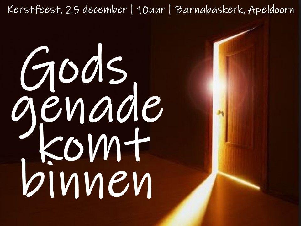 Liturgie Eerste Kerstdag - ds. B.A.T. Witzier