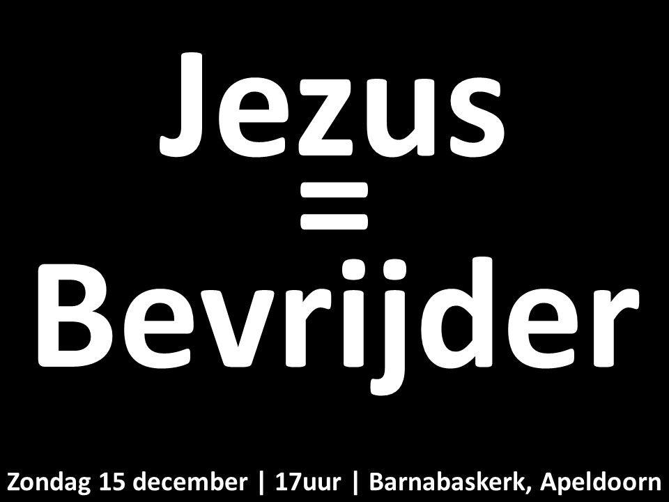 Liturgie middagdienst 15 december - ds. B.A.T. Witzier