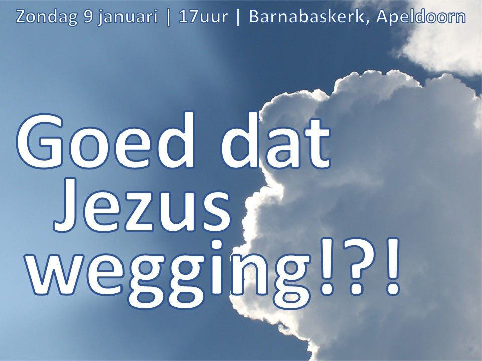 Liturgie middagdienst 9 februari - ds. B.A.T. Witzier