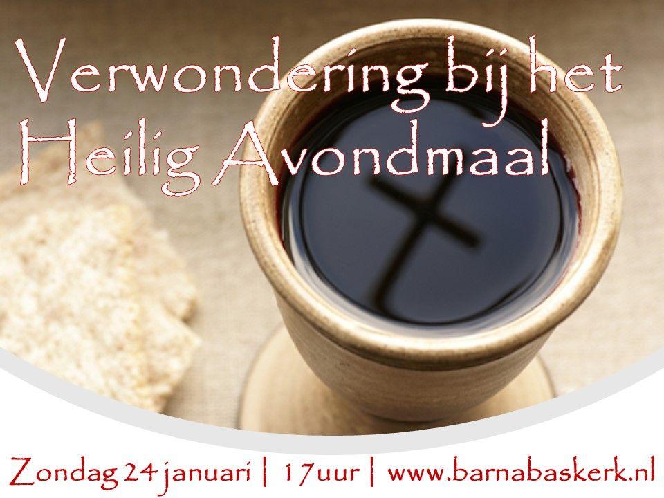 Liturgie middagdienst 17 januari - ds. B.A.T. Witzier